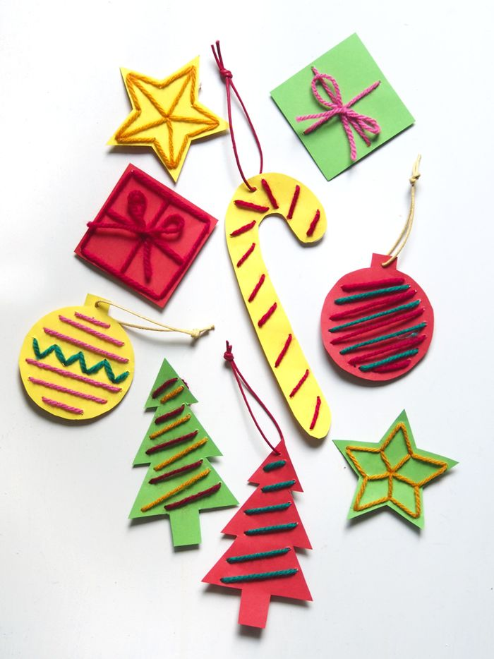 Simple-stitched-paper-ornamets