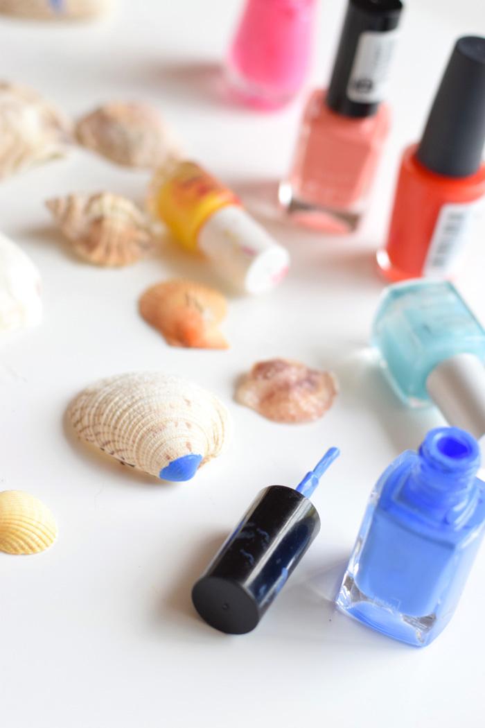 Bloesem kids craft   Beach DIY: Seashell art