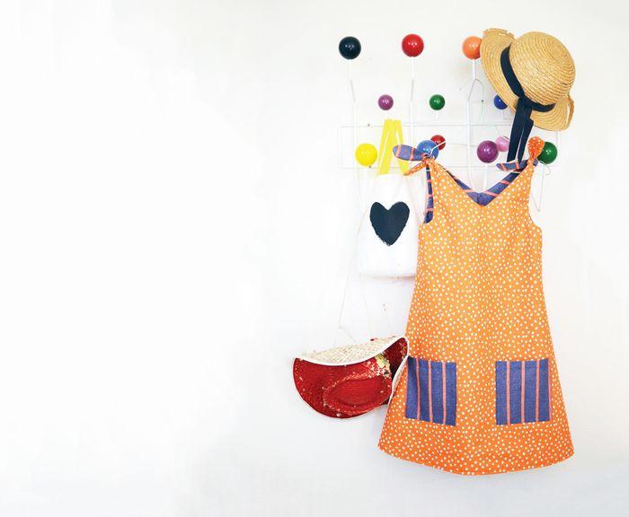 Bloesem kids | Sweet tie reversible dress DIY from Bloesem Gazette 4 kids issue