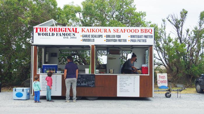 Bloesem kids | Bloesem Gazette: Family vacation to New Zealand | Kaikoura Seafood BBQ
