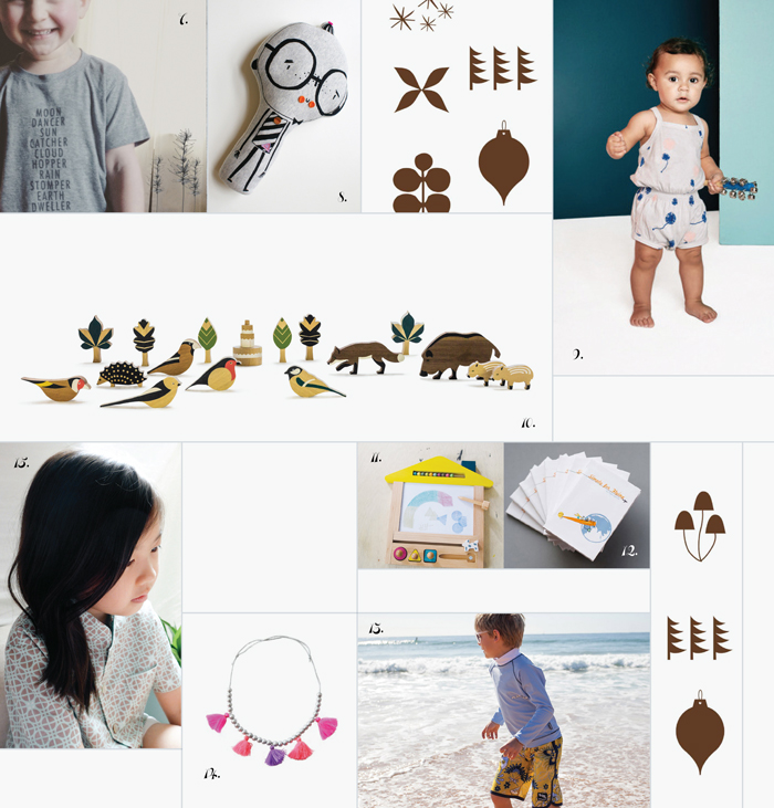 Bloesem Kids | A Page from Bloesem Gift Guide 2015