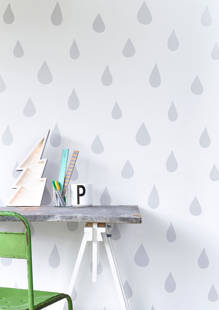 Bloesem kids | Win Hibou Home Raindrops wallpaper worth $299