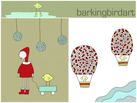 Barkingbirdart
