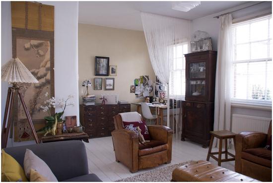 Livingandofficeroom